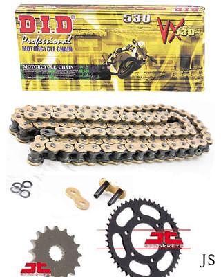 Suzuki GSX-R750 G,HG,H,XH GR75A 86-87 DID GOLD VX X-Ring Chain & Sprocket Kit