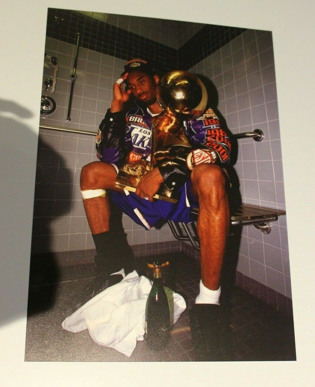 Kobe Bryant CHAMPION Poster 12x17