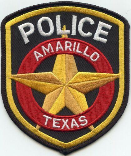 AMARILLO TEXAS TX POLICE PATCH