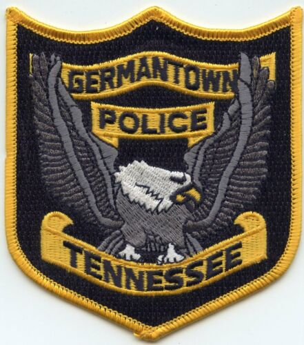 GERMANTOWN TENNESSEE TN POLICE PATCH