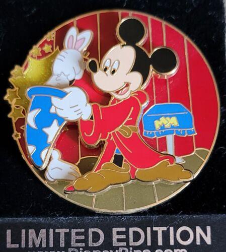 Disney WDW White Glove Sorcerer Mickey The Magic Trick LE 500 Pin