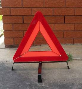 Portable Car Safety Warning Folding Tripod Reflective Triangle Northmead Parramatta Area Preview