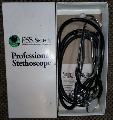 Vintage Sprague Rappaport Professional Model Stethoscope Bonus Stethoscope