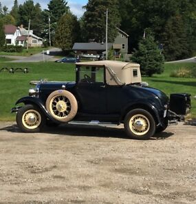 1929 Cabriolet ford model a