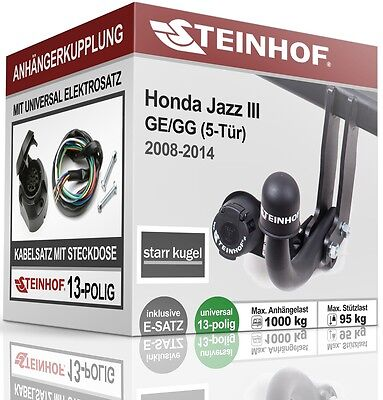 Elektrosatz 13-pol EBA spezifisch für HONDA Jazz 10.2008-06.2015 NEU inkl