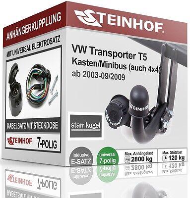 13p E-Satz VW Transporter T5 Van 2003-2015 43061A1 AHK Anhängerkupplung