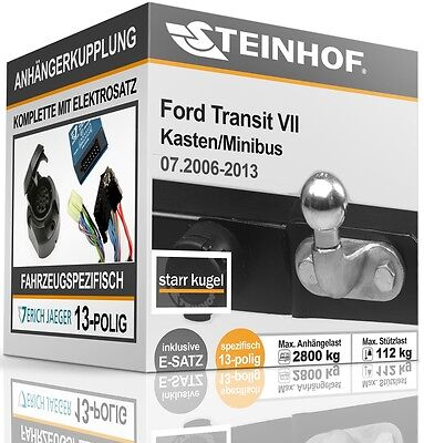 Ford Transit Kasten//Bus E-Satz 13-pol universell NEU inkl EBA