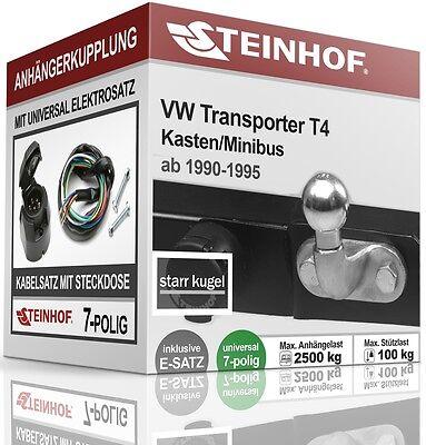 Volkswagen Transporter T4 Kasten 96-03 Kpl Anhängerkupplung starr+ES 13p uni AHK