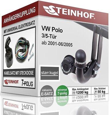 Für Polo Variant 6KV5 Anhängerkupplung abnehmbar E-Satz 13pol Set top AHK /& ES