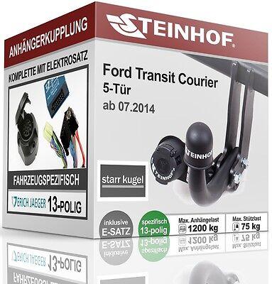 AHK starr Für Ford TRANSIT COURIER ohne Vorbereitung+E-SATZ 13p SPEZIFISCH