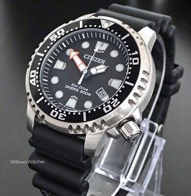 Citizen Promaster Eco-Drive Mens Marine Divers 200M Watch BN0150-10E New