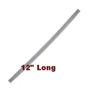 Clear Corrugated Flexible Hose Line 12 inches Long Fuel Pump Assembly Module