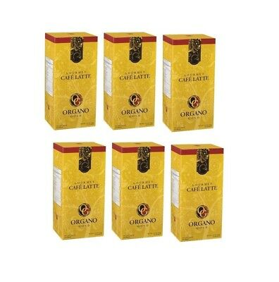 6 BOXES Organo Gold CAFE LATTE - SHIPS EXPEDITE - Delivered in 1-3 Business days, usado segunda mano  Embacar hacia Argentina