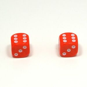 1-Pair-of-Orange-Dice-Dust-Caps-for-BMX-80s-Retro-Valve-Caps