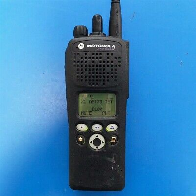 Mototola Xts2500 Bn Uhf-1 P25 Digital Aes 9600 Trunking Portable Radio Ham Gmrs