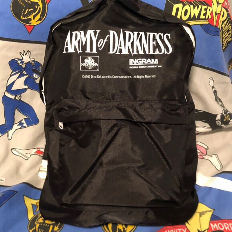 Army Of Darkness Movie promo Backpack Very Rare