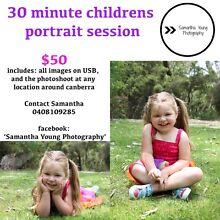 30min Children Portrait Session Kambah Tuggeranong Preview