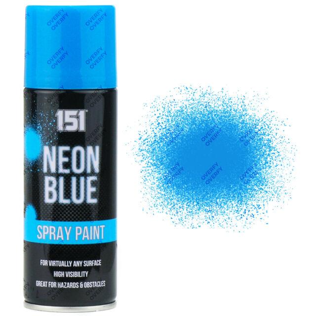 Neon Spray Paint For Plastic Part - 30: 1 X Fluorescent Neon Blue Aerosol Spray Paint DIY 200ml Auto Car 151 Quality