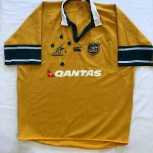 mens Canterbury Australia jersey size 4XL but more a XL