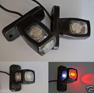 4x-12V-24V-INDICATORE-LATERALE-LUCI-LED-Telaio-DEL-RIMORCHIO-CAMION-per