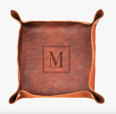 Personalized Genuine Leather Stash Tray (Leather Stash Tray)