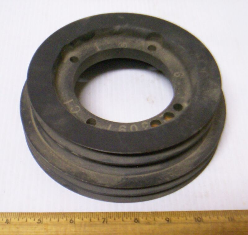 Four Groove - V-Belt Pulley (NOS)