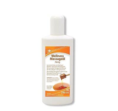 KK Wellness Massageöl Honig 250 ml Wellness Aromaöl Massage Öl Lotion Therapie