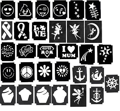 il Ribbon Stars Mum Fairy Emoji Puzzle Anchor Cake Peace Dad (Glitter Emoji)