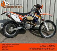 KTM 450 EXC 2014 ** 52 Hours ** Akropovic ** Triple Clamps **