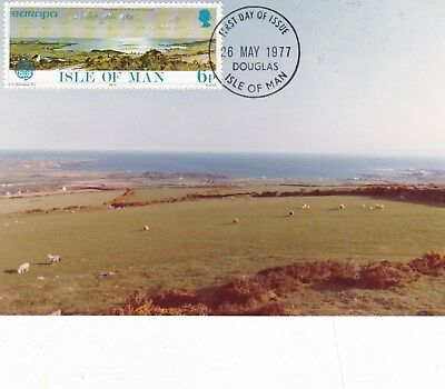 Isle of Man 1977 6p Europa on Photograph FDI VGC