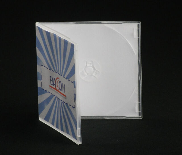 10 CD Single Case, Slim Soft Semi Clear Cases! Free Delivery!