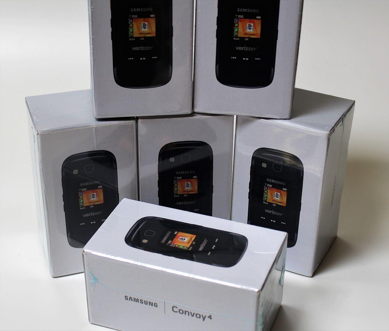 Samsung Convoy 4 B690 Rugged Flip Bluetooth Cellular phone