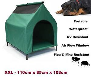 New XXL Elevated Pet House Dog Bed Raised Trampoline 110cmx108x85 Redcliffe Redcliffe Area Preview
