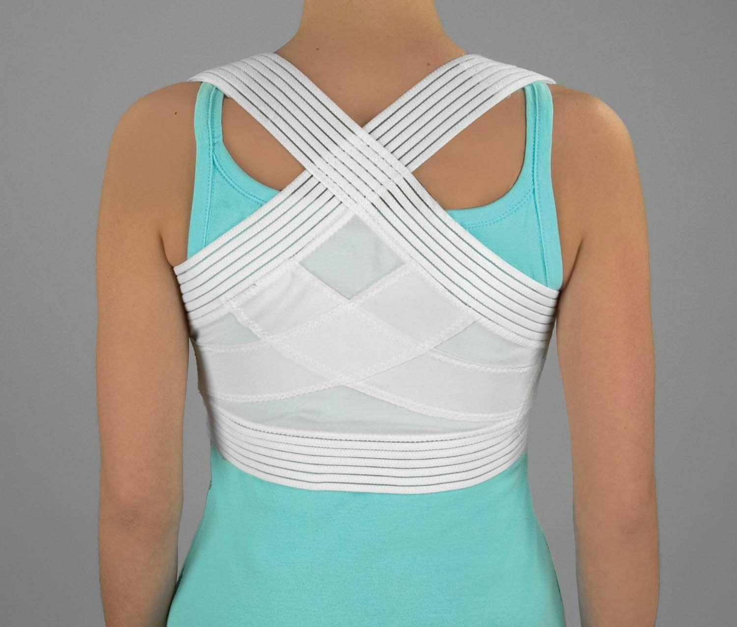 Posture Corrector Reinforced Criss Cross Back Support Shoulder Made in USA Health & Beauty