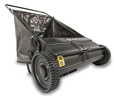 Lawn Sweeper Push Leaf Grass Catcher Vacuum Yard Clean Up Landscape Mower Leaves
