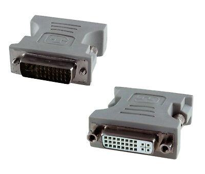 Adaptador Video de DVI-I 24+5 Dual Link Macho - Hembra
