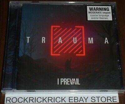 I PREVAIL - TRAUMA -13 TRACK CD- FEAR00660 BRAND NEW SEALED