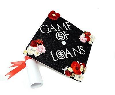 Handmade Graduation Cap Decoration Cap Topper Game of -