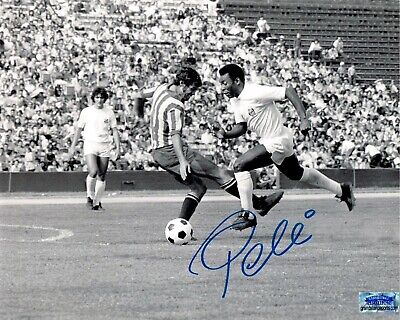 Pele Signed 8x10 Autographed REPRINT PHOTO Brazil Soccer Legend RP ()