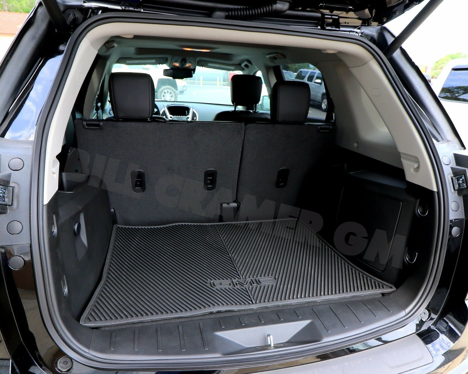 23477163 2012-2017 GMC Terrain OEM Black All Weather Rear Cargo Mat NEW