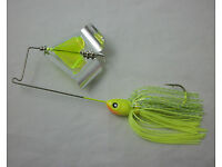 BLACK with BLUE GLITTER BLADE in BLADE BUZZ BAIT   1//2 oz COLOR