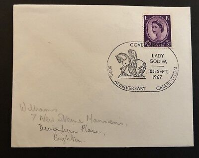 First Day Cover - Lady Godiva 200th Anniversary Celebration 1967