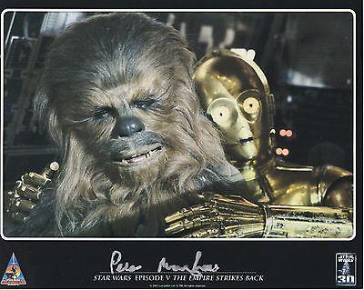 Peter Mayhew ++ Autogramm ++ Star Wars ++  Chewbacca ++ Autograph