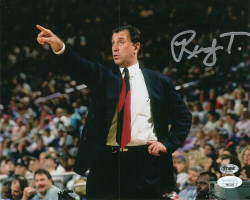 Rudy Tomjanovich Autograph Signed 8x10 Photo - Houston Rockets (JSA COA)
