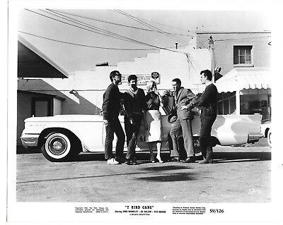 "Jack Nicholson ""T-Bird Gang"" 1959 publicity still photo 8x10 Ford Thunderbird a5"
