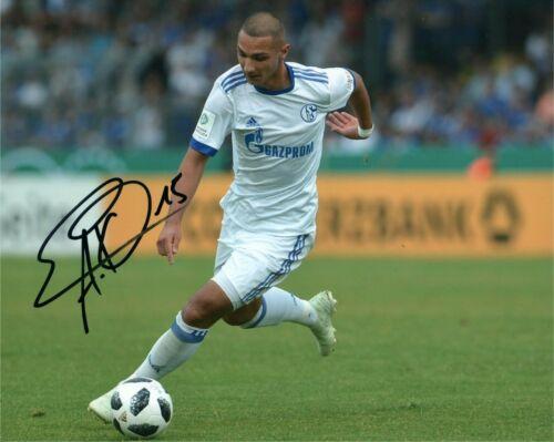 Schalke Ahmed Kutucu Autographed Signed 8x10 Photo COA #1