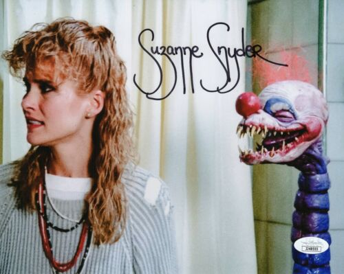 Suzanne Snyder Autograph Signed 8x10 Photo - Killer Klowns (JSA COA)