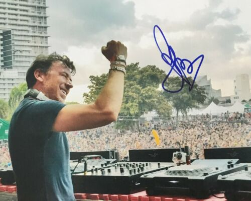 Benny Benassi DJ Satisfaction Signed 8x10 Photo Autographed COA E3