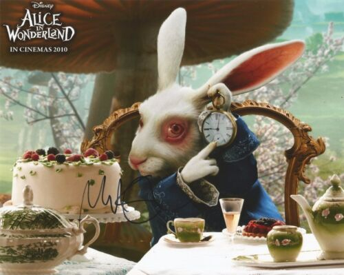 Michael Sheen Signed Alice In Wonderland 10x8 Photo AFTAL