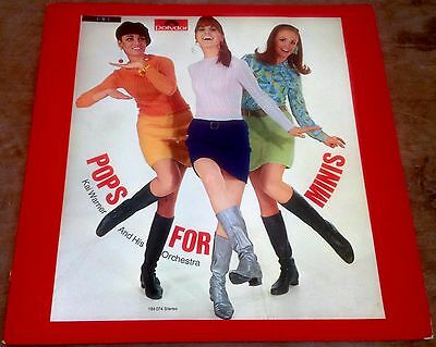 KAI WARNER pops for minis 1966 GERMAN POLYDOR STEREO LP 60s MOD GIRL FASHION